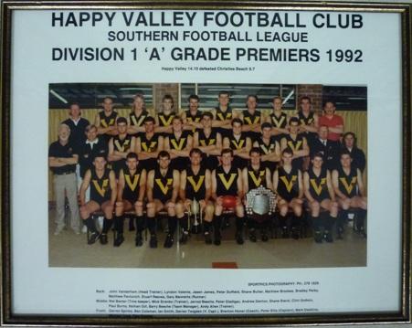 HVFC 1992 Premiers-web