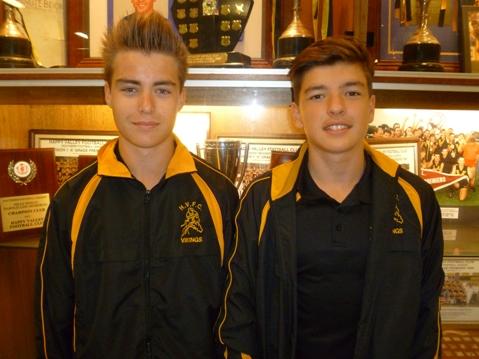Luke Jones (C) & Matthew Lillis (VC) for U16-web