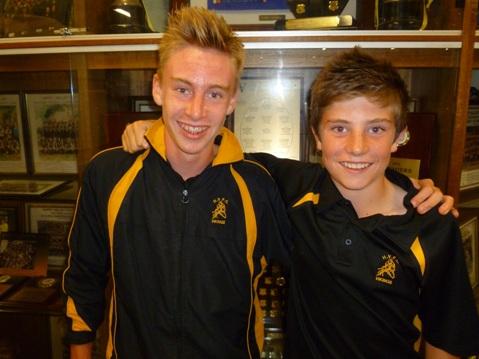 Tate Coleman (C) & Joel Beeche (VC) for U14's-web