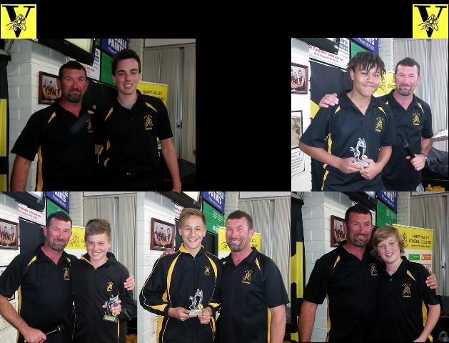 U14 Saturday Team Award Winners 2015-web